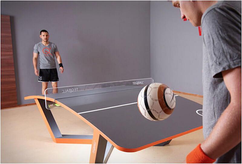 卓球+フットボールなスポーツTEQBALLが面白そう!
