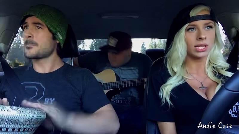 Andie Caseの車内カバーソングがすごく素敵