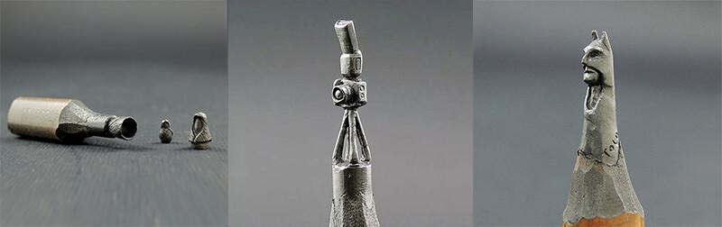 鉛筆彫刻アートが繊細な世界:Jasenko Đorđević