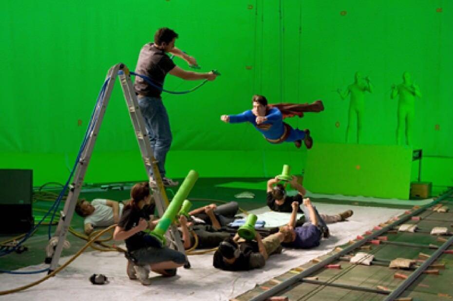 映画の特殊効果の裏側はこうなっている