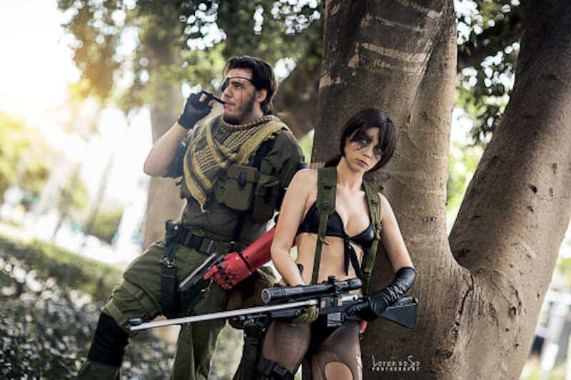 MGSV:TPPクワイエットのコスプレ:Shiiva Cosplay
