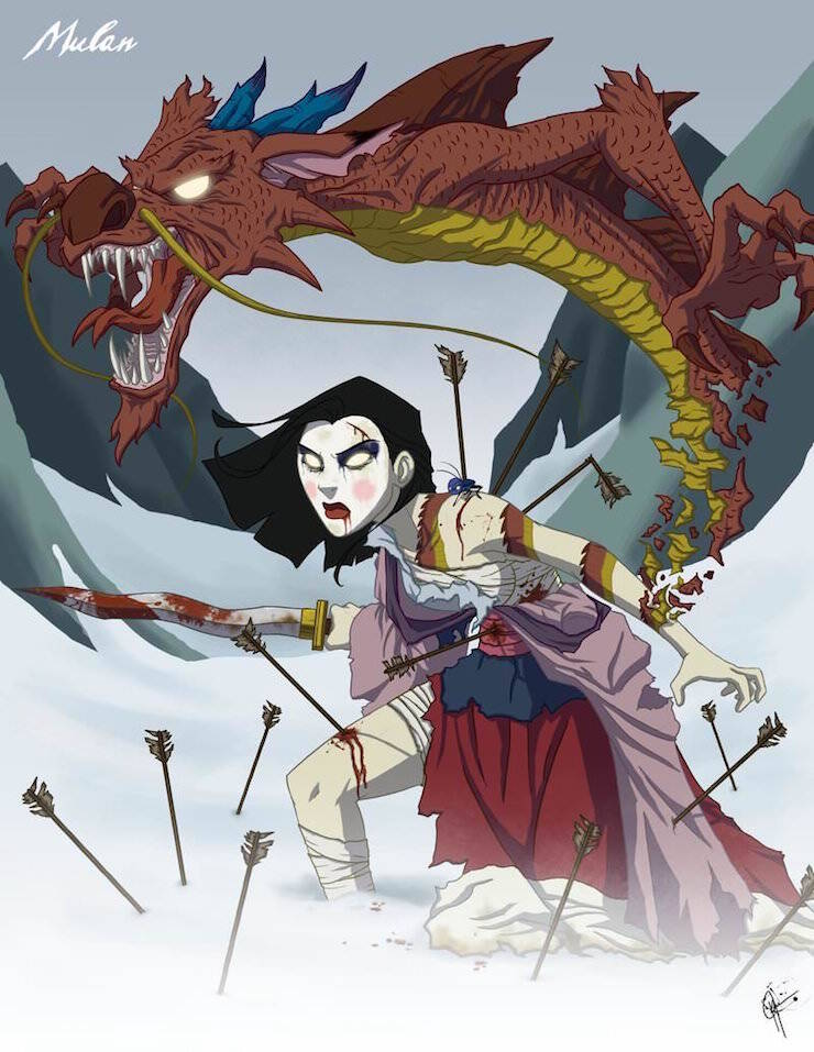 twisted_princess__mulan_by_jeftoon01