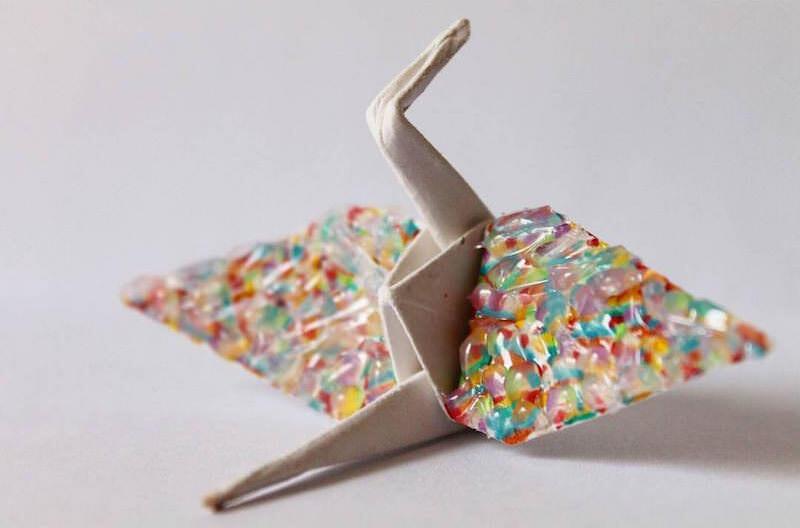 こんな折り鶴は見たことない!折り鶴をカスタマイズする人Cristian Marianciuc