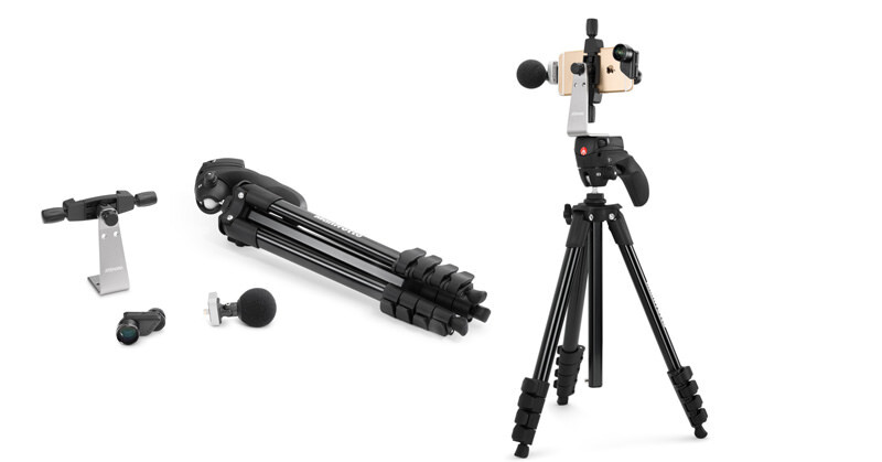 Apple StoreよりiPhone用ビデオ撮影セット:Videography Kit for iPhone 6/6s and iPhone 6 Plus/6s Plus