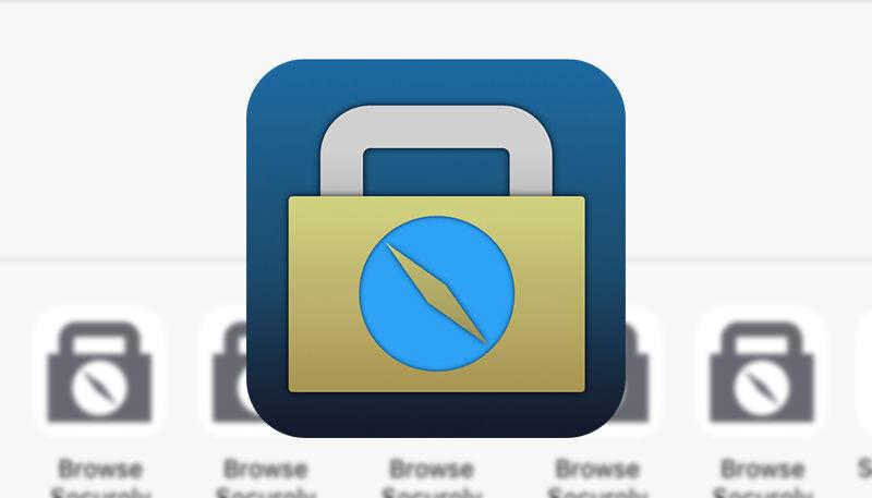 アプリ内ブラウザでSafariを開くことが出来る連携機能Browsecurely