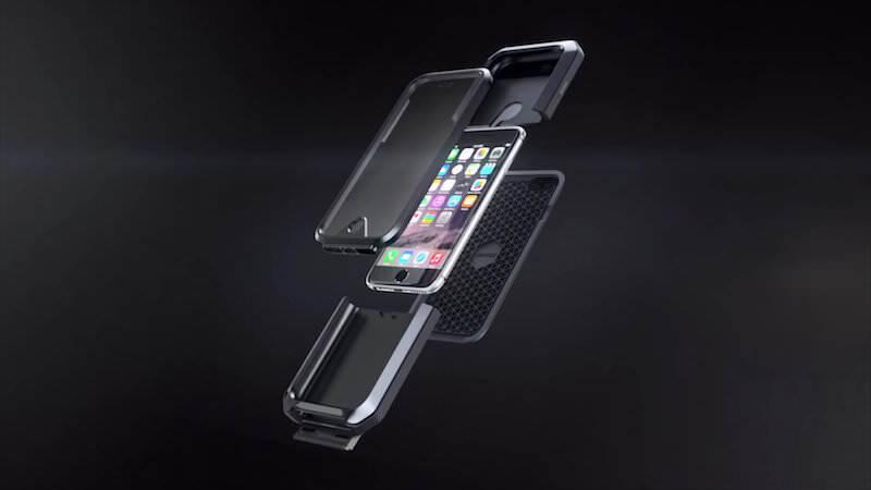 防水!防塵!耐衝撃!とタフなiPhone 6用ケース:TAKTIK 360