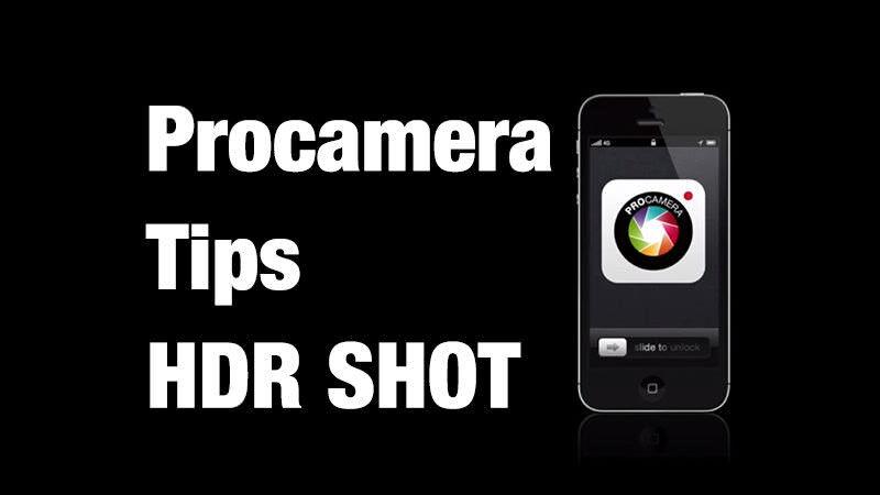 ProCamera TIPS:HDR撮影をしてみよう!