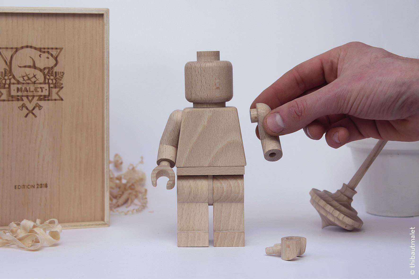 木製LEGOの人形がめっちゃ欲しくなったぞ!