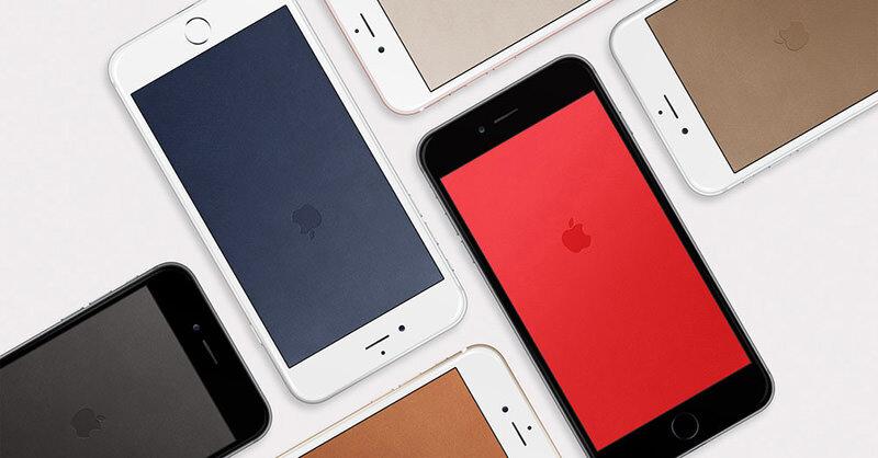 iPhoneの壁紙をオシャレに決めろ!レザーケースに合うレザー風壁紙