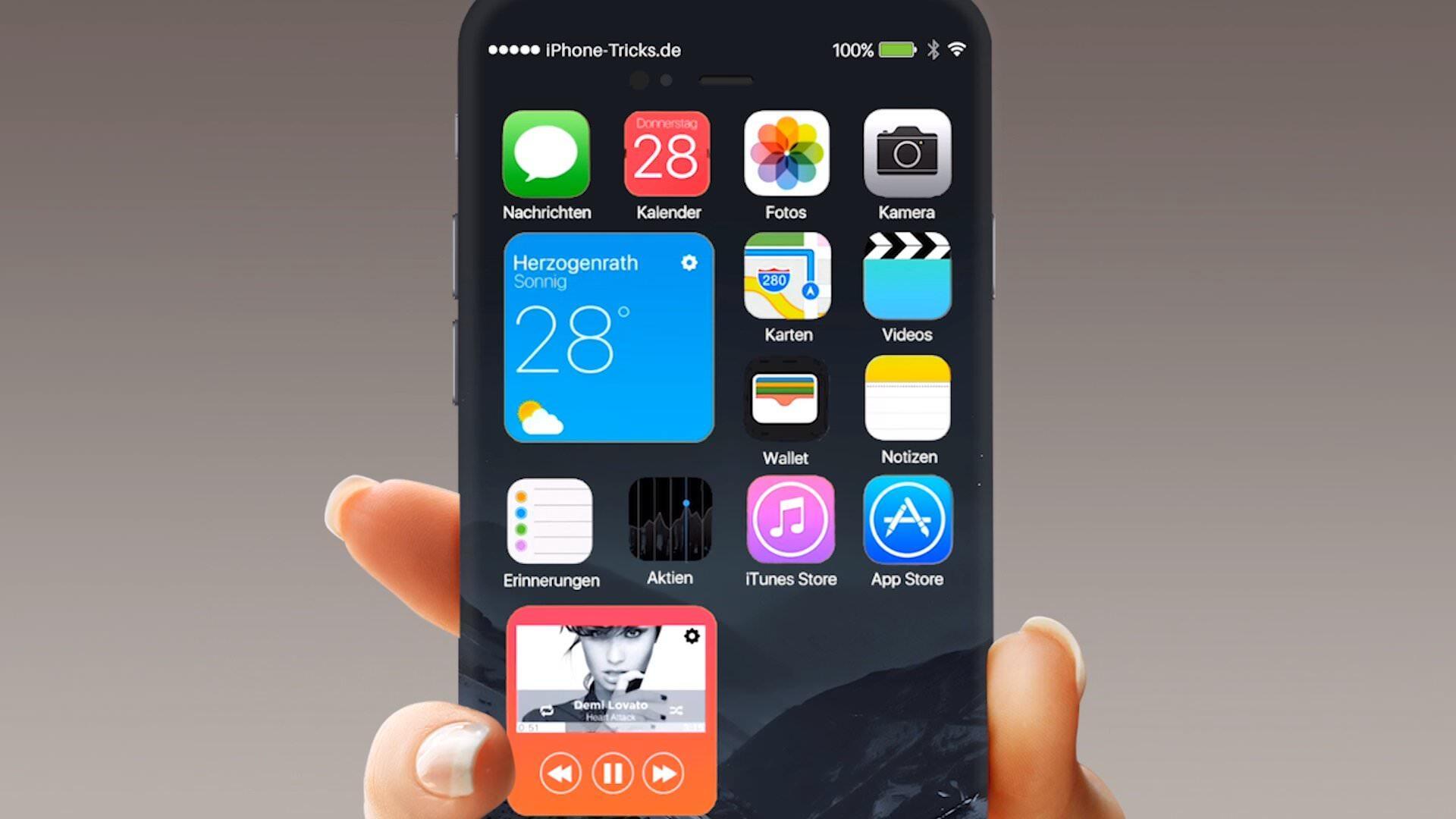 「iPhone 7」のコンセプトムービーがちょっと良いかもと思った