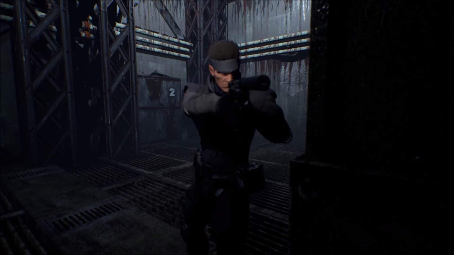 「Unreal Engine 4」でリメイクされたMGSの「シャドーモセス島」、トレーラー公開