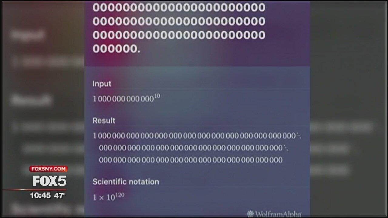Siriに「10兆の100乗は?」と聞いて生まれるリズムで音楽ができ上がる