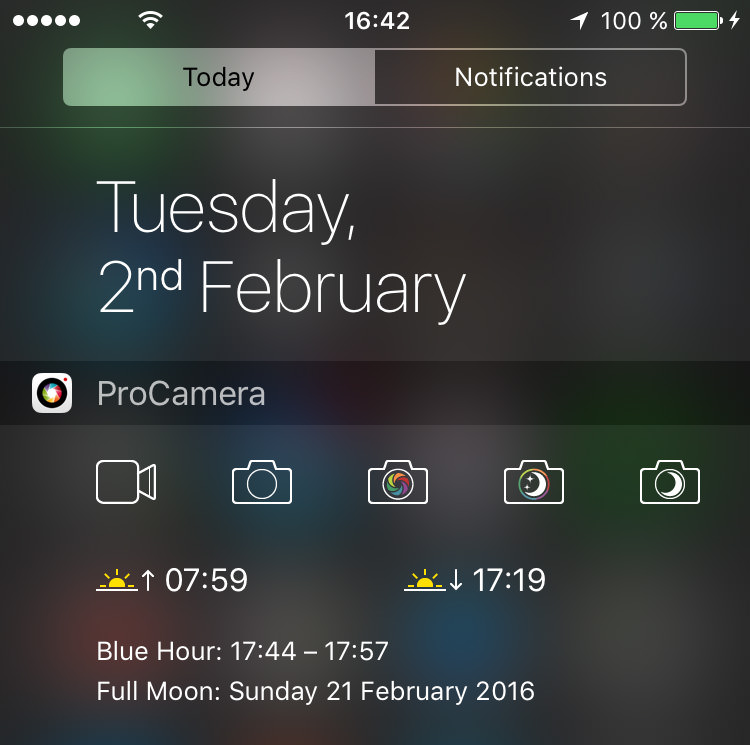 ProCamera_TodayWidget_TimeDisplay