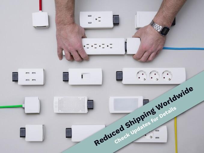 1つで複数の接続端子や機能を組み合わせれる電スマート源タップ:YOUMO