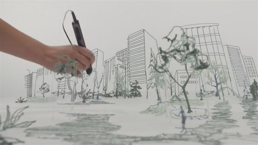 3Dペンで作られた絵画がすごい