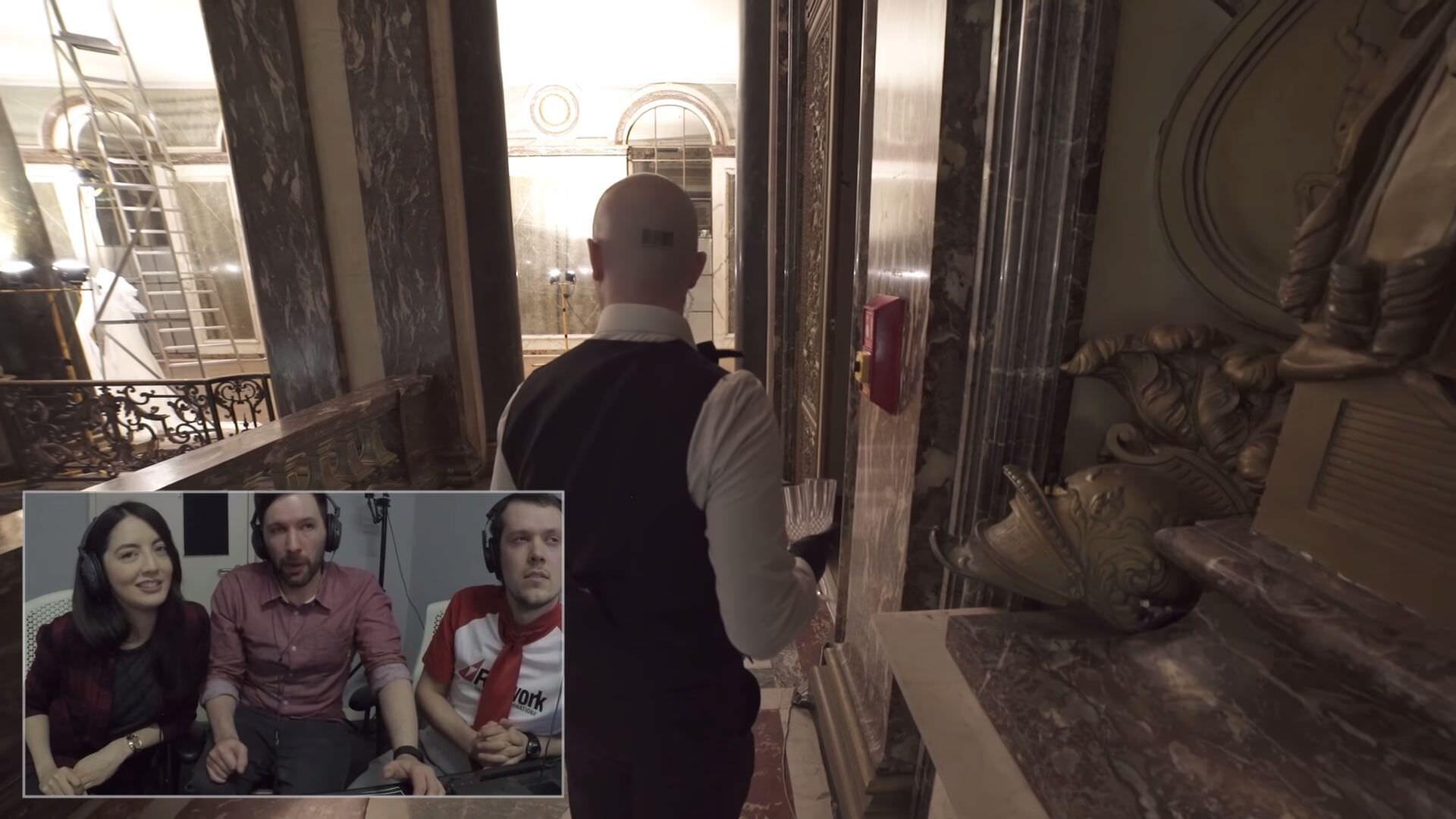 リアル世界でゲーム「HITMAN」を指示するオペレーターを体験する