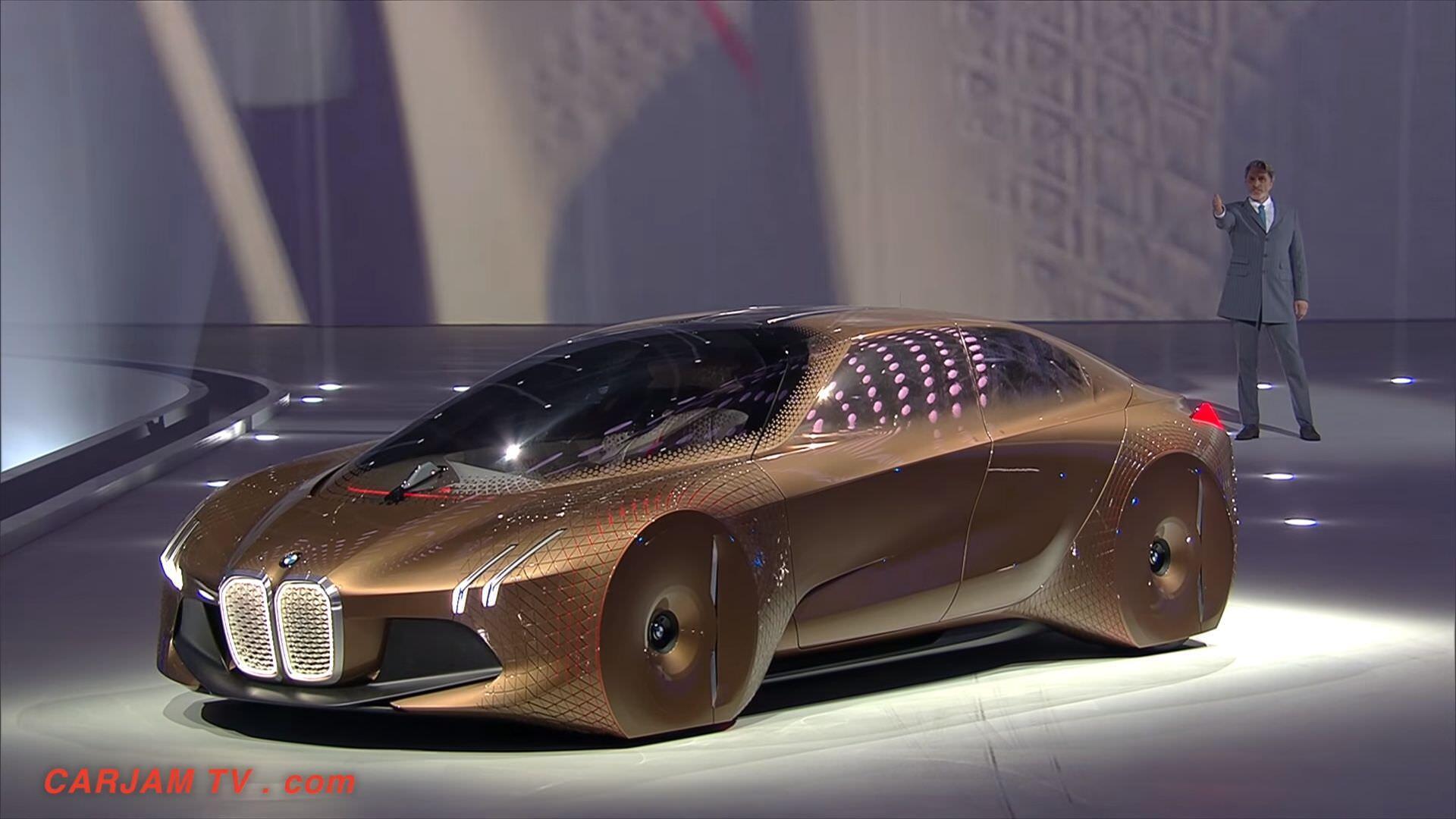 BMWのコンセプトカー「VISION NEXT 100」がものすごく未来的だった