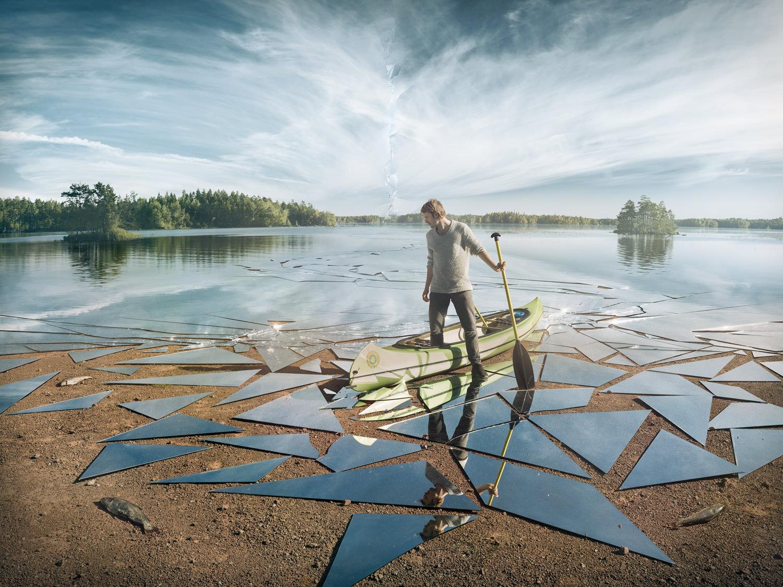フォトグラファーによる一の作品ができ上がっていく様子:Erik Johansson