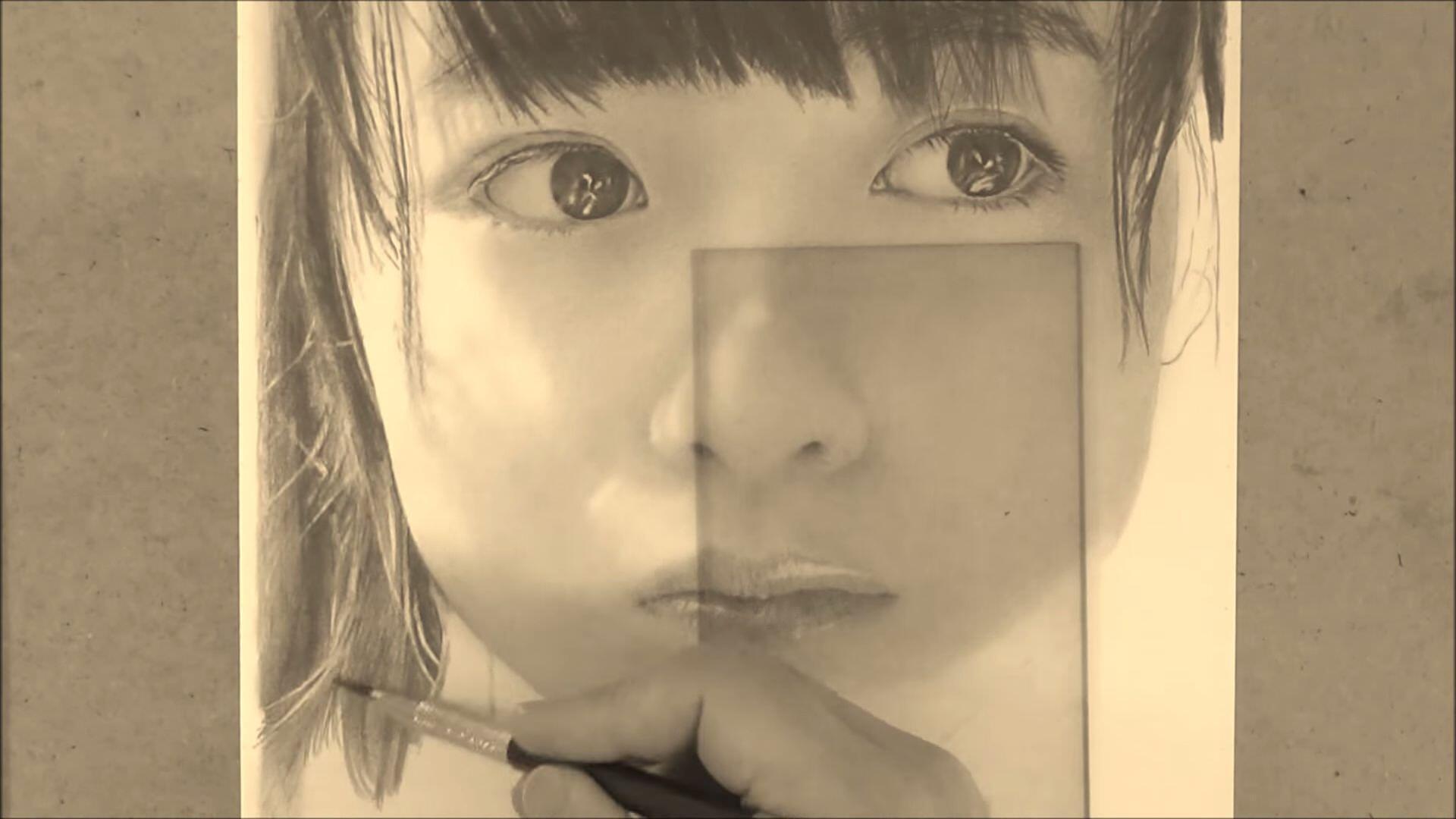 鉛筆を使って超絶リアルに描かれる芸能人達:art by 古谷振一