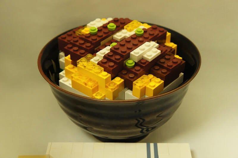 日本人LEGOアーティストTaryさんの作る「食べ物」がスゴイ