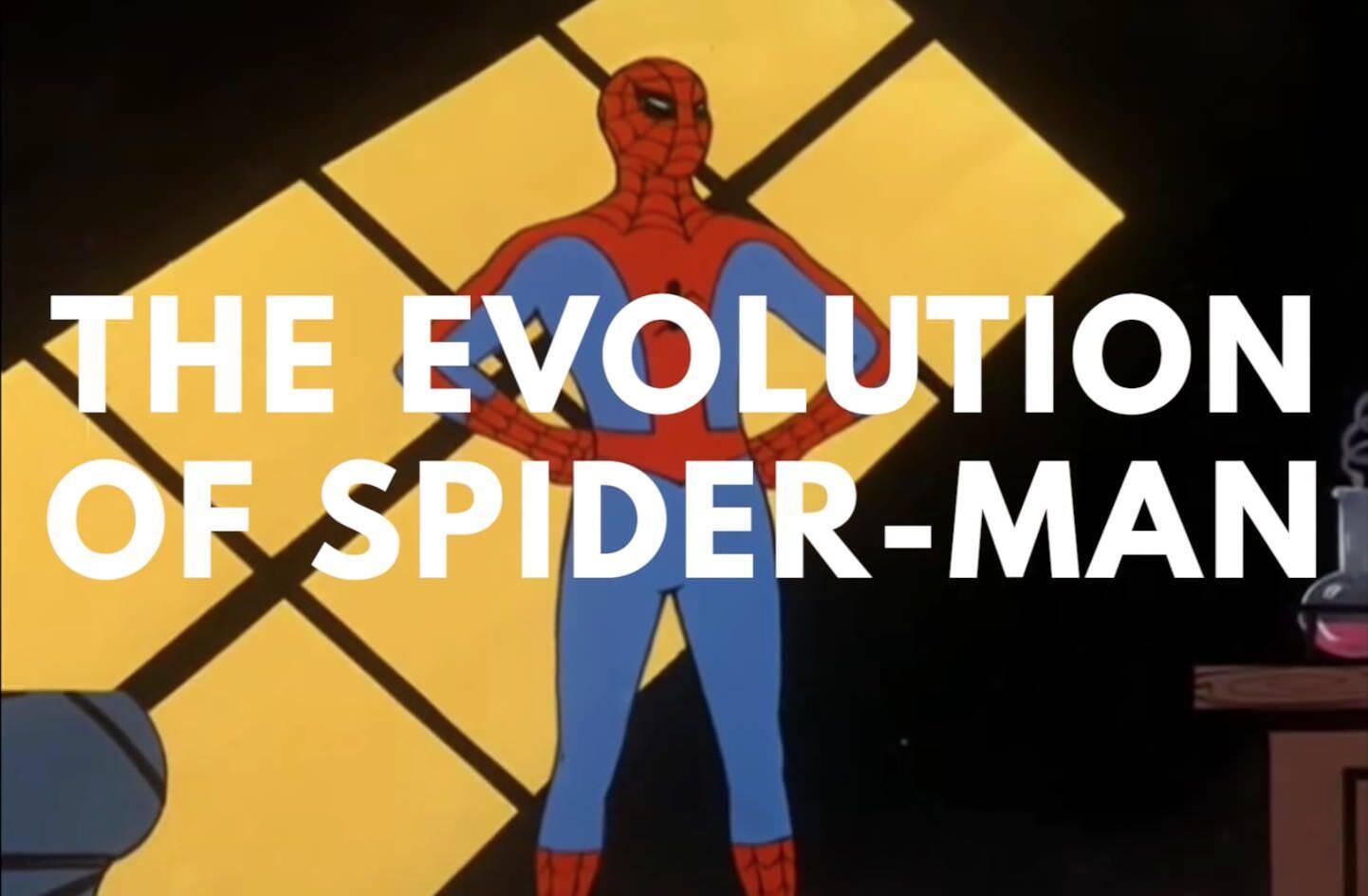 スパイダーマンの歴史!映画やアニメや特撮