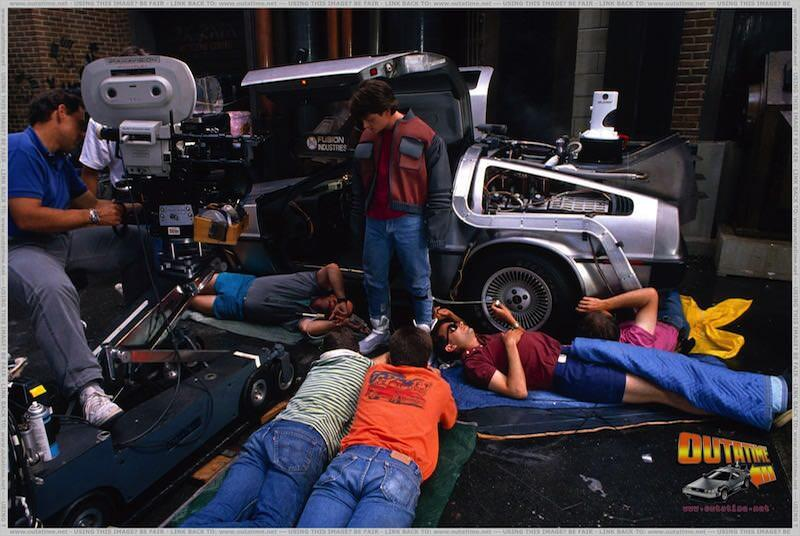 Behind the scenes back to the future 7 800x536