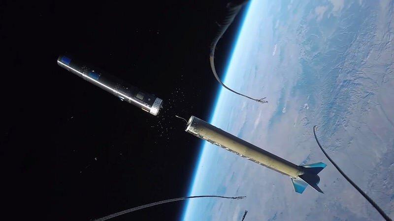 GoPro「ちょっと宇宙行ってくる」アクションカメラをロケットに取り付け飛ばしてみた映像