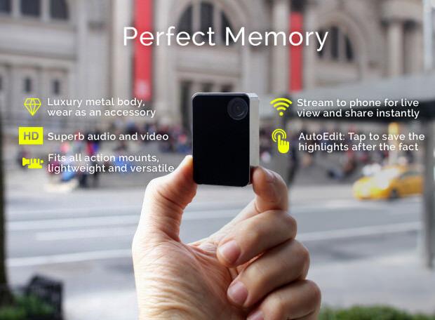 ふとした瞬間の5分前から保存してくれるカメラ:Perfect Memory