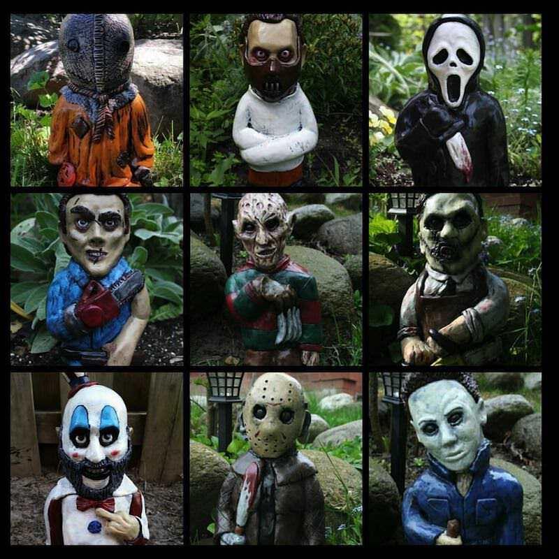 ゾンビになっちゃったノーム人形達!しかもEtsyで販売されている