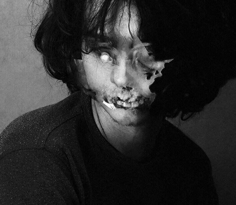 奇妙なオーバーレイに恐怖するポートレイト:Magdalena Pacewicz