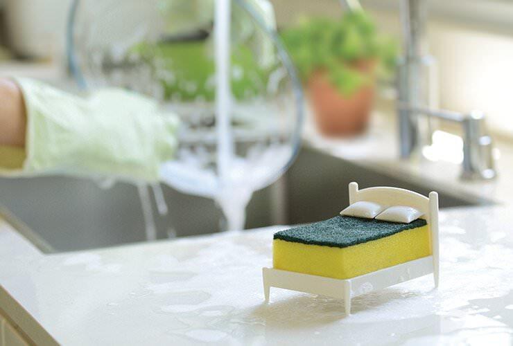 キッチンでスポンジを休ませるためのベッド:CLEAN DREAMS