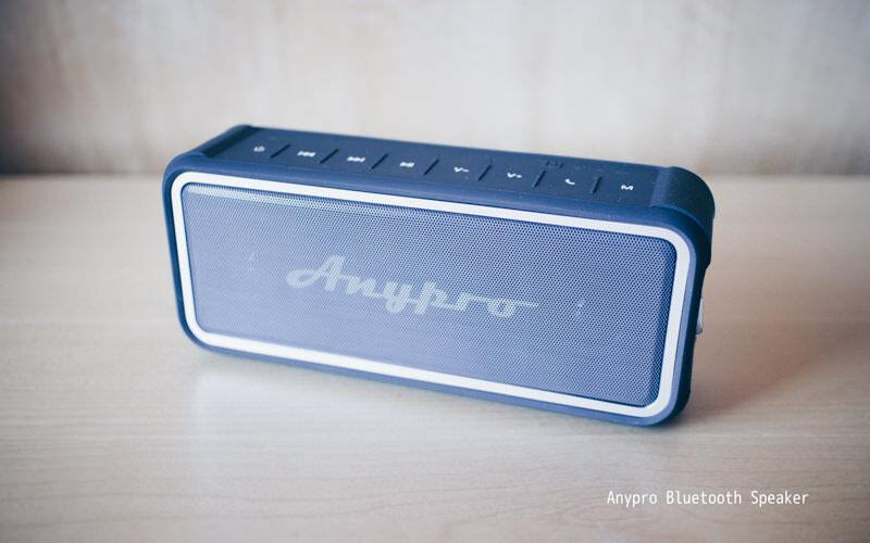 AnyproのBluetoothスピーカー、わりと長持ちしてくれる(4400mah)