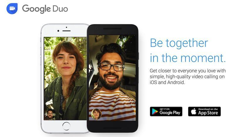Google、待ち受けから映像を渡せるiOSビデオ通話アプリGoogle Duoを公開