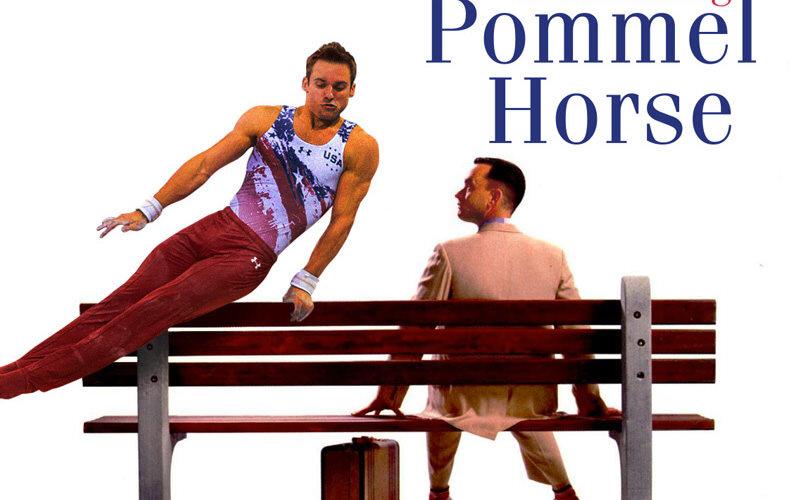 オリンピックと有名映画のポスターを合わせたヤツ