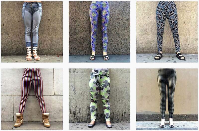 写真家が撮り続けたニューヨーカーの「脚」の写真 NY Legs