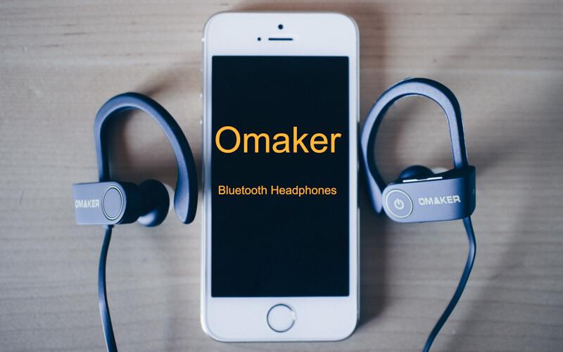 OmakerのBluetoothヘッドセット、イヤーフックが柔らかい