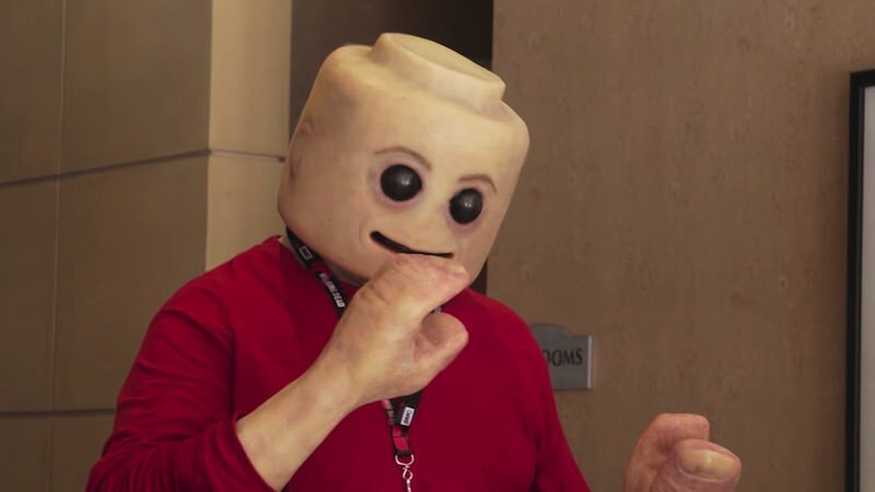 トラウマレベルでリアルテイストに作られたLEGOのミニフィグコスプレ