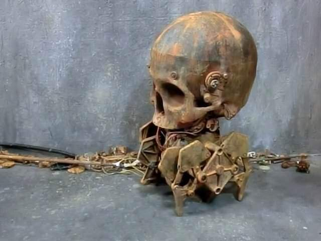 頭蓋骨の先行者がきもすぎる:Skull Walker