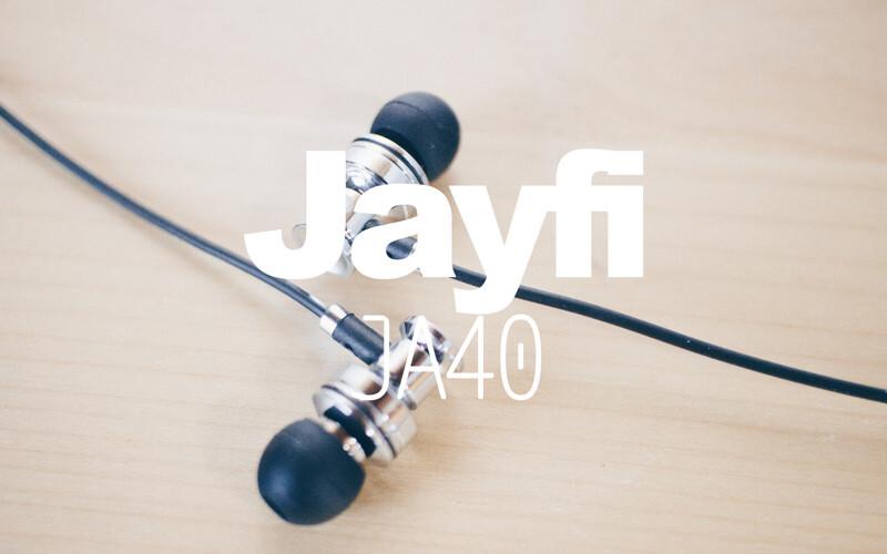 金属ハウジングなJayfiのカナル型イヤホン:JA40