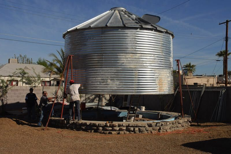 Converted grain silo by Christoph Kaiser 6 800x535