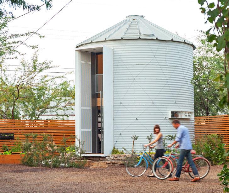 貯蔵タンクを改造して、ゴージャスな家に作り替える:Christoph Kaiser