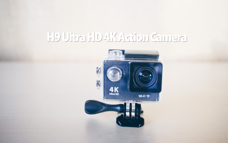 H9 Ultra HD 4K Action Cameraのレビュー、映像有りっす。