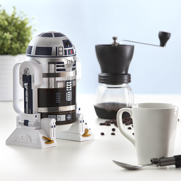 Itns r2 d2 coffee press inuse