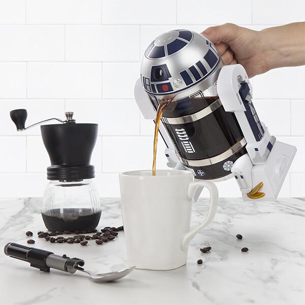 R2-D2の形なコーヒープレスがマジでイケてる