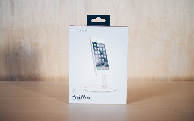 Satechi iphone charge stand IMG 0491