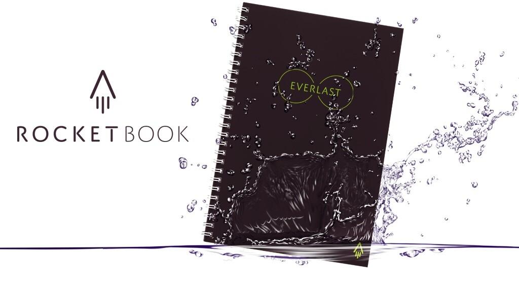 書いて、スキャンして、塗れタオルで消す…何度も書けるノート:The Everlast Notebook