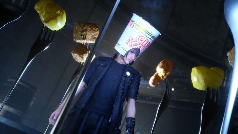 コレはずるい!カップヌードルとFF15のコラボCMが面白い!!!:「CUP NOODLE XV 篇」