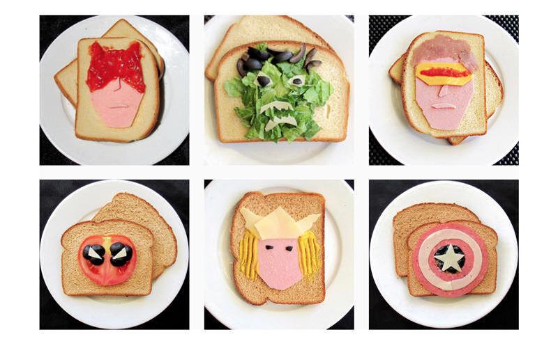 サンドイッチの中にスーパーヒーローとか、良いなそのアイディア:David Coscarelli
