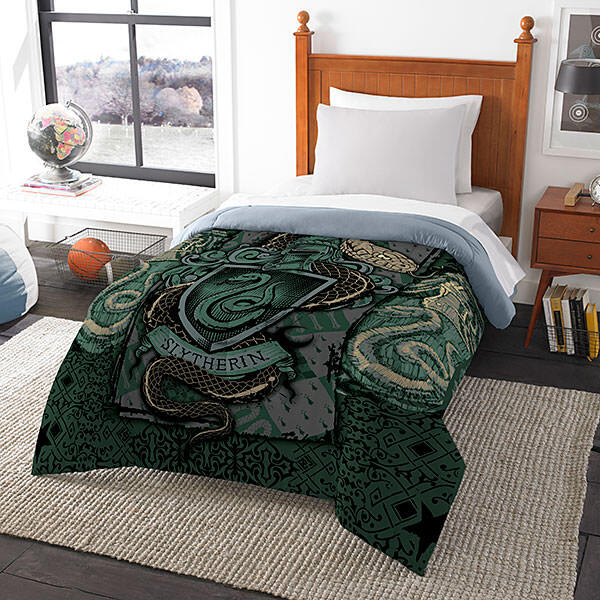 Jlss harry potter house comforters slytherin