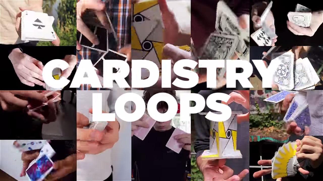 カードフラリッシャー達のループ映像とかいつまでも見ていられそう:CARDISTRY LOOPS